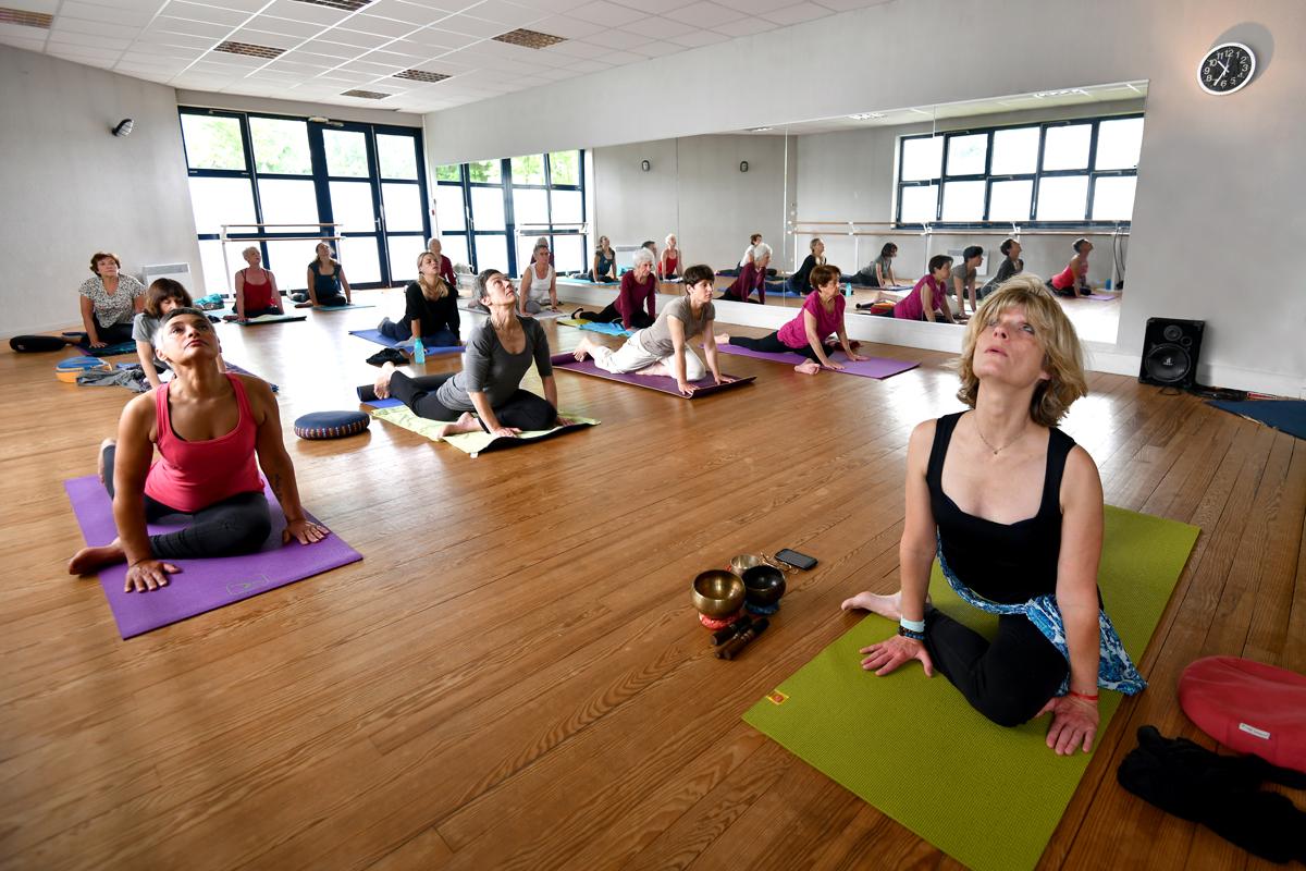 Les activités du yoga de Fanny - cours collectifs à Bordeaux
