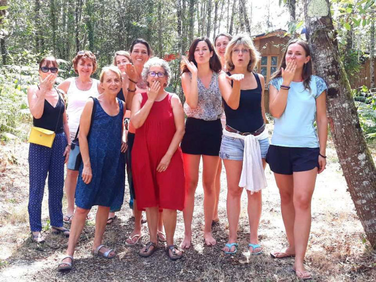 Vacances yoga - Lignan-de-Bazas - juillet 2020 - Détente et repos