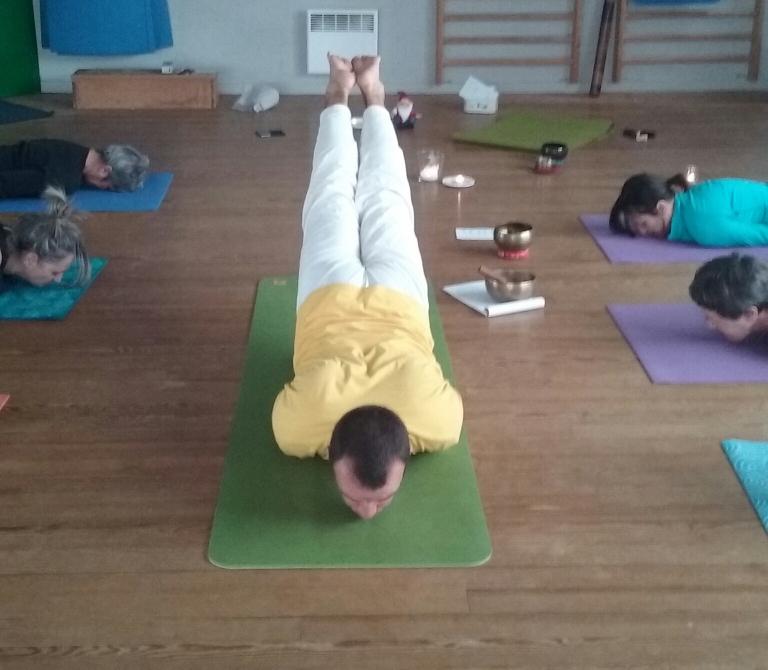Yoga du dos - Le yoga de Fanny