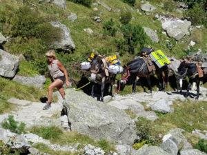 Aline - accompagnatrice en montagne - le yoga de Fanny