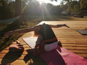 Fanny Bricoteau- Retraite yoga et nutrition