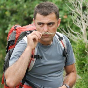 Matthéo - accompagnateur en montagne - le yoga de Fanny