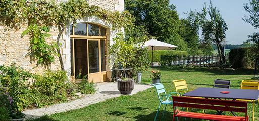 Mareuil en Périgord - Grange périgourdine.
