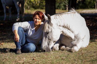 Retraite yoga et cheval - Lignan-de-Bazas - Mars 2021 - Communiquer avec les chevaux