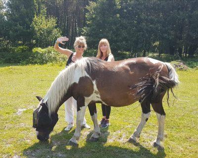 Retraite yoga et cheval - Lignan-de-Bazas - Mars 2021 - Fanny et Judith