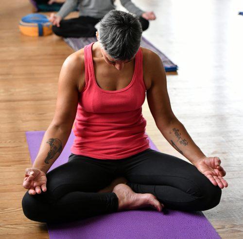 Les activités du yoga de Fanny