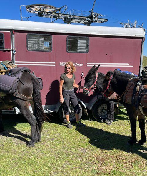 Retraite yoga et ânes - Pyrénées - Septembre 2021 - Les ânes d'Alice